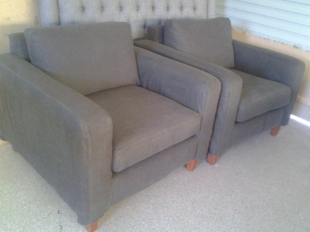 Lounge chairs slipcover